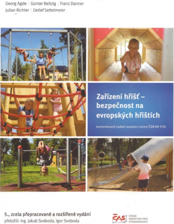 CAS vydal německou publikaci o bezpečnosti dětských hřišť